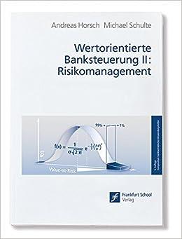Banksteuerung und Risikomanagement (German Edition)