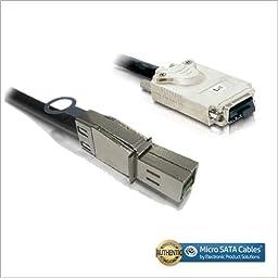 External Mini-SAS HD SFF-8644 to Mini-SAS SFF-8470 Cable 1 Meter