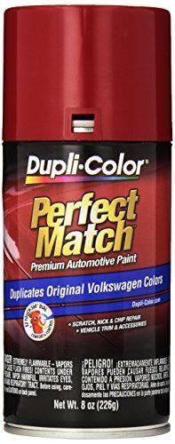 Dupli-Color EBVW20377 Tornado Red Volkswagen Perfect Match Automotive Paint - 8 oz. Aerosol by Dupli-Color (Image #2)