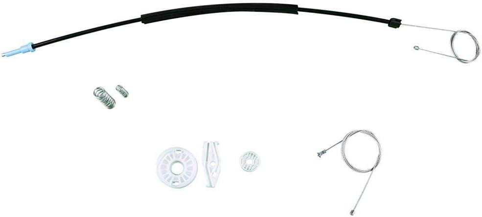 EWR790 Kit di riparazione per alzacristalli posteriore sinistra per .V.W New Beetle Cabriolet 2003-2010
