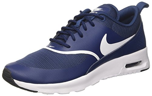 black Max White Navy NIKE Femme 419 Air Thea Baskets Bleu 8Y0w5S0q