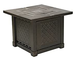 Outdoor firepits srgf08 herrington square gas for Amazon prime fire pit