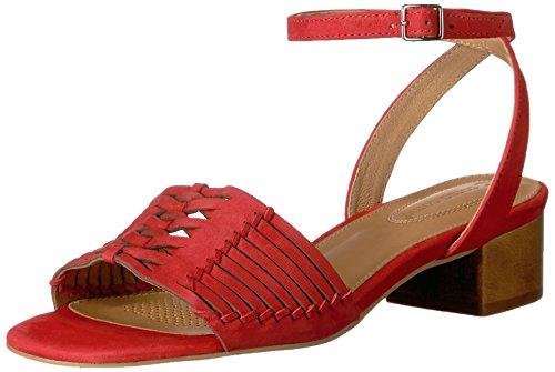 Como Bahamas Red Sandal Women's Nubuck Corso Huarache 14wq6P4x