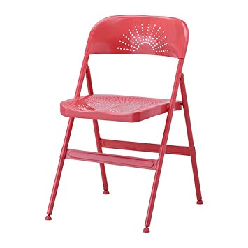 Astounding Ikea Frode Folding Chair Red Amazon Co Uk Kitchen Home Lamtechconsult Wood Chair Design Ideas Lamtechconsultcom