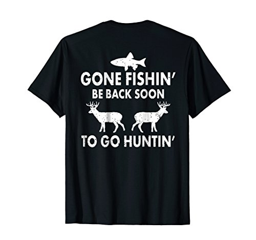 Fishing & Hunting T-Shirt Gift for Hunters Who Love To Hunt