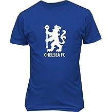 Chelsea FC Soccer Football T Shirt Lyon Blue