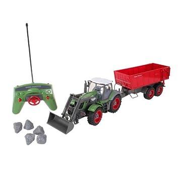 Revell - Tractor agrícola y remolque con radiocontrol (24960)