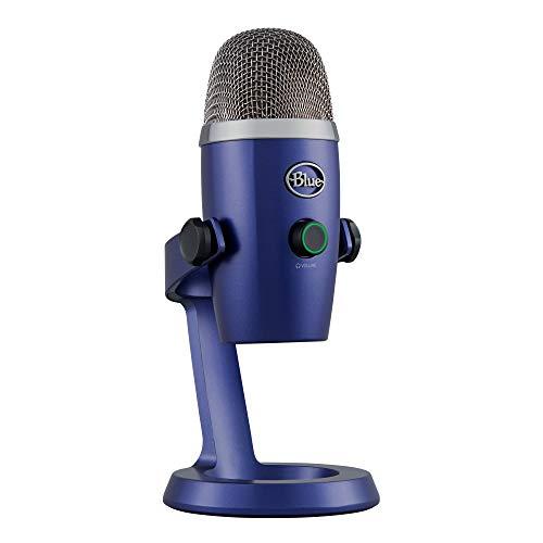 Blue Yeti Nano Premium USB Mic for Recording and Streaming - Vivid Blue