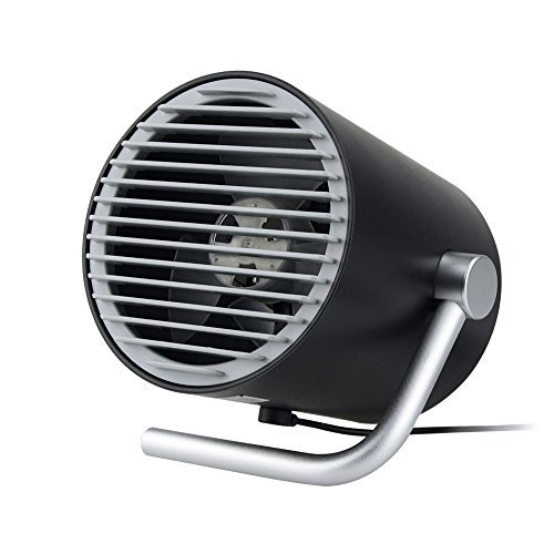 Color You  Personal Desk Fan USB Mini Table Fan with Twin Turbo Blades, 2 Speeds Wind Adjustable, with Whisper Quiet Cyclone Air for Home, Office, Outdoor Travel ()