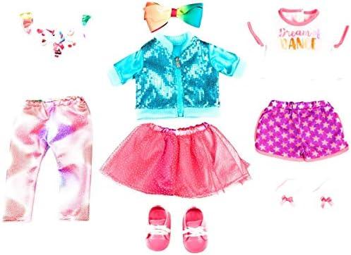 [해외]My Life As 9피스 JoJo Siwa 인형 의상 세트 / My Life As 9-Piece JoJo Siwa Doll Outfits Set