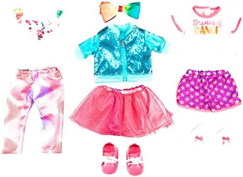 Life As 9-Piece JoJo Siwa Doll Outfits