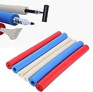 Foam Tubing 6 Pcs Foam Grip Tubing Non-Slip Foam Handle Sleeve Cover Padding Grips for Utensil, Pens, Pencils,