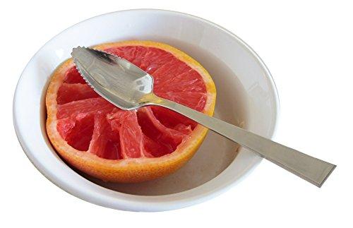 Cuisinox Spo-GR Serrated Grapefruit Spoon, Silver by Cuisinox