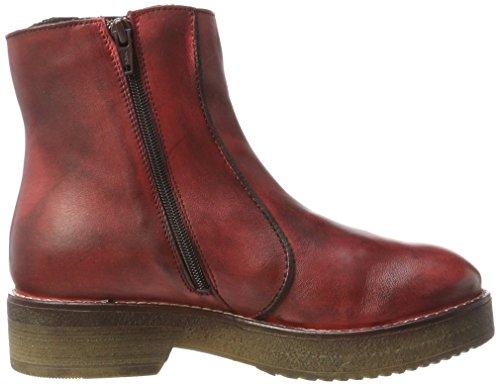 MANAS Damen 172m5801nx Reitstiefel Rot (Rosso Vivo+Rosso Vivo)