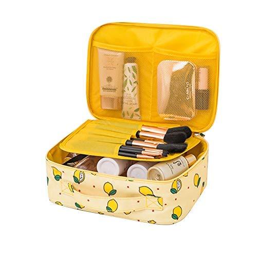 Hazelsha - Bolsa de aseo Mujer Amarillo amarillo talla única ...