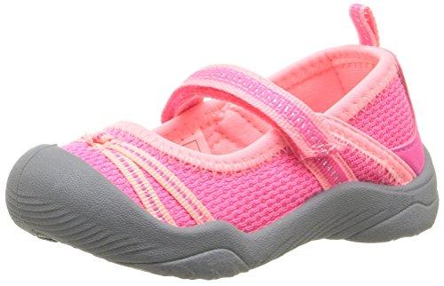 OshKosh B'Gosh Maja Girl's Athletic Mary Jane, Pink/Coral, 10 M US Toddler (Athletic Janes Mary)