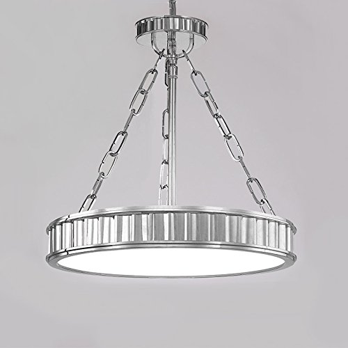 Hudson Valley Lighting 901-pn Middlebury 3 Light Semi Flush In Polished Nickel (Middlebury Pendant Lighting)