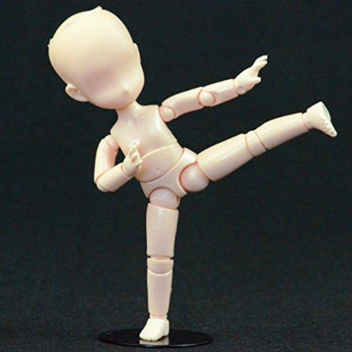 Action Figure Modèle, Starall Enfant Mannequin 2.4 Corps Kun Poupée Corps Action Figure DX Ensemble Avec Accessoires Kit Jouets Pour Dessin, Esquisse, Peinture