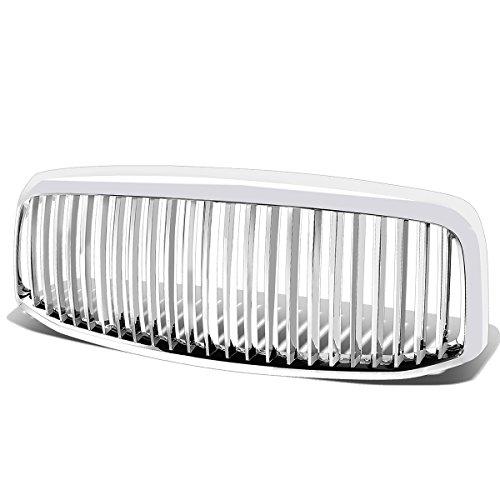 Dodge Ram 1500/2500/3500 ABS Plastic Vertical Front Grille (Chrome) - 3rd Gen DR/DH/D1/DC/DM Facelifted