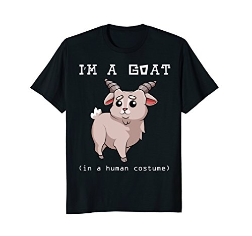 I'm A Goat In A Human Costume - Funny Sheep T-shirt ()