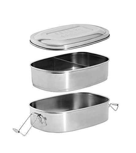 Stainless Steel Insulated Metal Lunch Bento Box Set 2