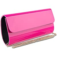 Mad Style Acrylic Elongated Clutch (Pink/White/Black)