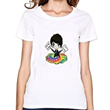 Johnnie Guilbert O Neck Tee For Woemns