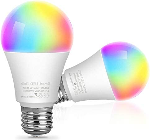 Smart WiFi Light Bulbs AllFlash LED RGB Color Changing Bulbs Work