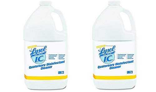 Ic Quaternary Disinfectant Cleaner (Professional Lysol IC Quaternary Disinfectant Cleaner Concentrate, 4gal (4X1gal) (2-(4X1gal)))