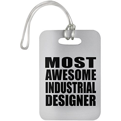 Most Awesome Industrial Designer - Luggage Tag, Suitcase Bag ID Tag