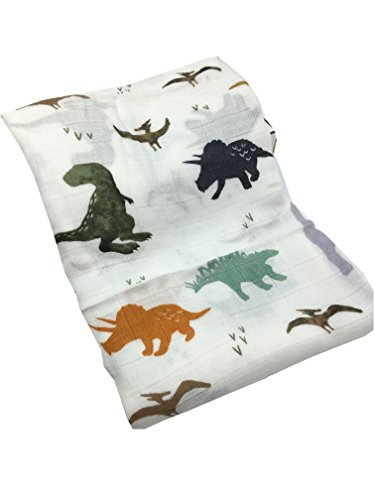 Baby Blankets Bedding Infant Swaddle Towel Multifunctional Envelopes 47x47|Perfect Christmas Gift (Dinosaur) ()