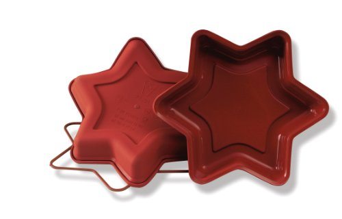 (Silikomart Uniflex Small Star Mold)