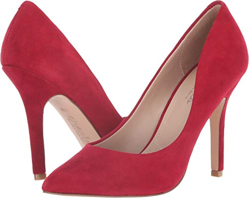 CHARLES BY CHARLES DAVID Women's Maxx Scarlet Suede 5 M US M