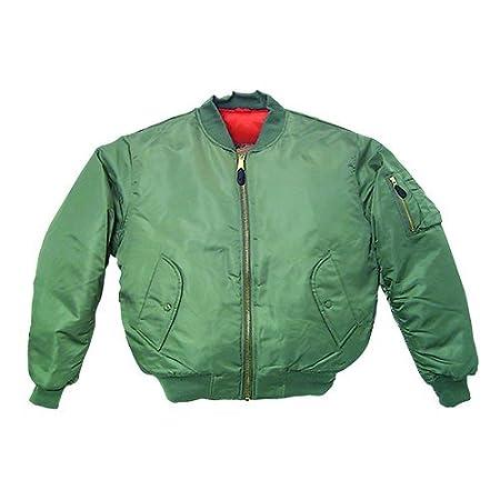 Fox Outdoor Products MA-1 Flight Jacket 60-11BL3 BLACK XXXL