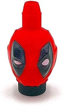 Boquilla 3D Sapiens para Shisha o cachimba - Deadpool