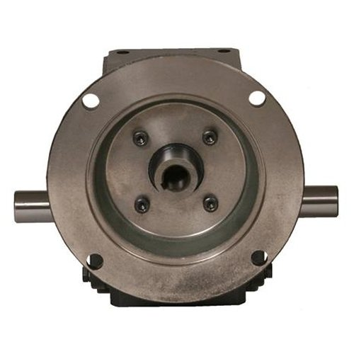 Worldwide Electric HdRF175-5/1-DE-56C Worm Gear Reducers, Double End Output, 5:1 Ratio, 350 Output rpm, 56C Frame, 1.75