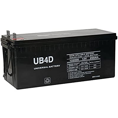 12v 200ah Solar Power Battery - Deep Cycle
