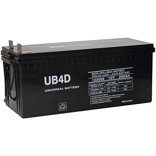 12v 200ah Solar Power Battery - Deep Cycle (8d Battery)