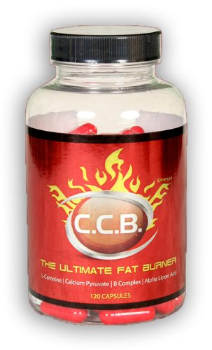 Pro Fight CCB (120 Capsules) The Ultimate Antioxidant Fat Burner with L Carnitine, Calcium Pyruvate, B Complex and Alpha Lipoic Acid