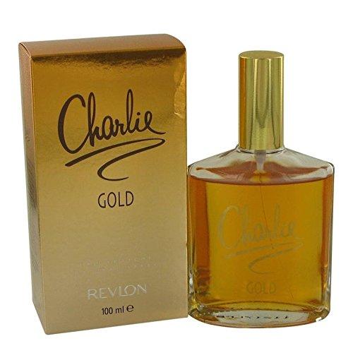 CHARLIE GOLD by Revlon Women's Eau Fraiche Spray 3.4 oz - 100% Authentic
