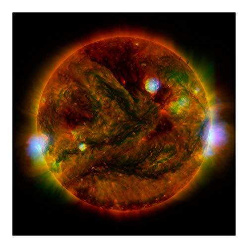 Global Gallery The Sun  Taken By Nustar  April 29  2015 Paper Art 20 X20