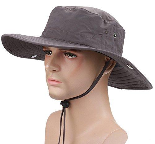 Revgear Long Sleeve (YOYEAH UPF50 + UV-cut safari hat adventure hat brim wide fashion hat hat Men)