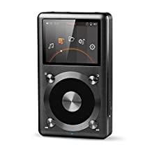 FiiO X3 2nd Generation High Resolution Lossless Music Portable Player with Native DSD Support (Black Colour)