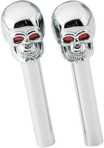 Amazoncom Skull Skulls Door Lock Knobs 2pc Set Automotive