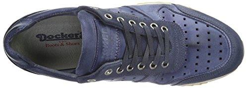 Dockers by Gerli 38eb007-201600, Zapatillas para Hombre Azul (Blau 600)