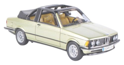 NEO 1/43 BMW 323i Convertible Bauer (E21) (1979) M Light Green (japan import)
