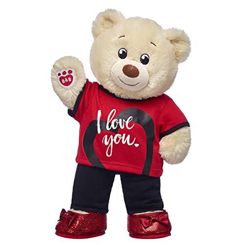 Build A Bear Workshop Lil' Cub Pudding Teddy Bear Happy Set from Build A Bear