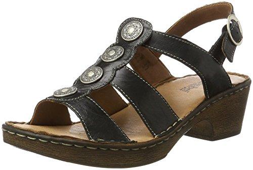 Josef Seibel Rebecca 55, WoMen Open Toe Sandals Black