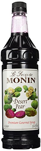 Monin® Desert Pear Syrup PET - 33.8 fl oz. (Monin Syrups Flavored)