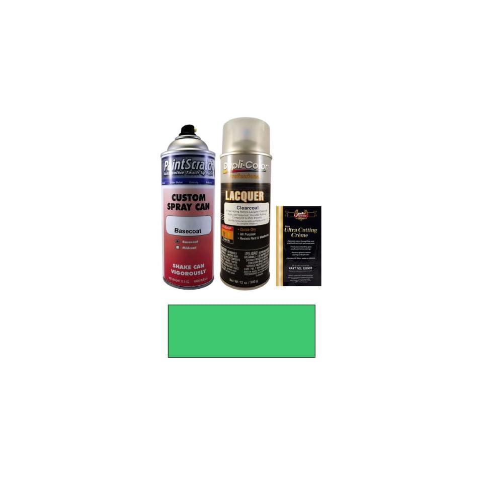 12.5 Oz. Laguna Green Metallic Spray Can Paint Kit for 2001 Mercedes Benz CLK Cabrio Class (810/6810)